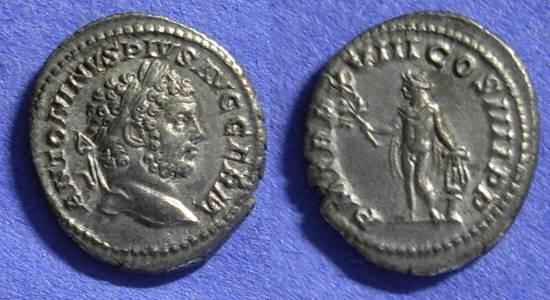 Ancient Coins - Roman Empire – Caracalla 198-217AD Denarius