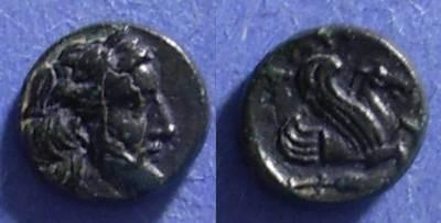 Ancient Coins - Adramytteion, Mysia Circa 350 BC, AE9