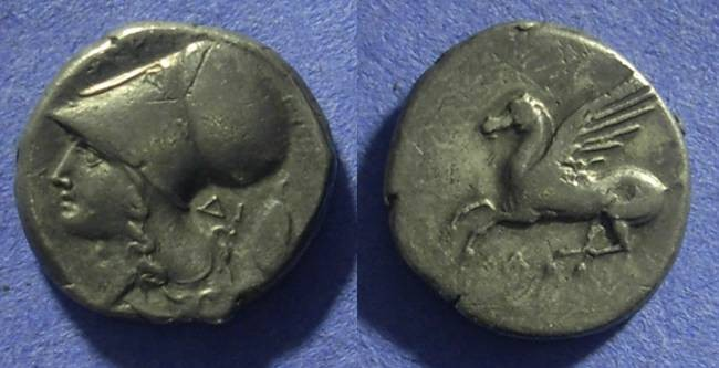 Ancient Coins - Argos Amphilochikon Akarnania Stater 350-270BC
