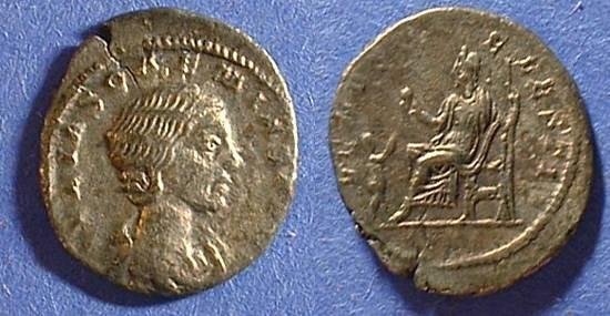 Ancient Coins - Julia Soaemias 220-222 Denarius