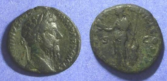 Ancient Coins - Roman Empire Marcus Aurelius 161-180 AD Aes