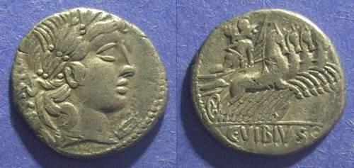Ancient Coins - Roman Republic, C Vibius C f Pansa 90 BC, Denarius