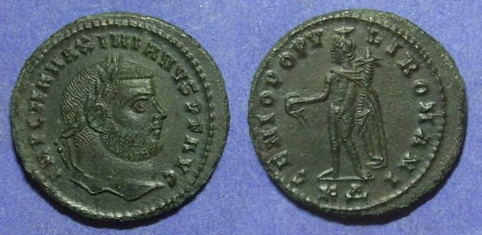Ancient Coins - Maximianus 286-305AD Follis - Great detail