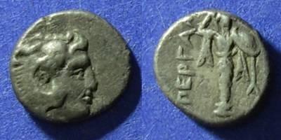 Ancient Coins - Pergamon, Mysia Circa 350 BC, Diobol