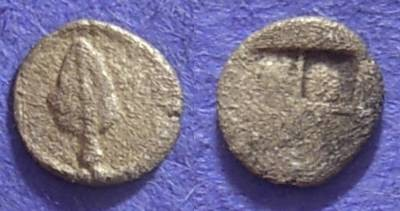 Ancient Coins - Macedonia – Uncertain – Circa 450 BC – Hemiobol