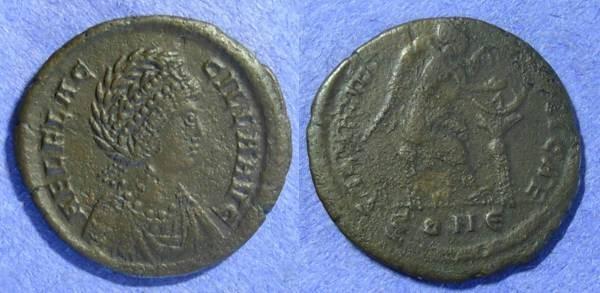 Ancient Coins - Aelia Flaccilla (Wife of Theodosius ) 383-386 AE2