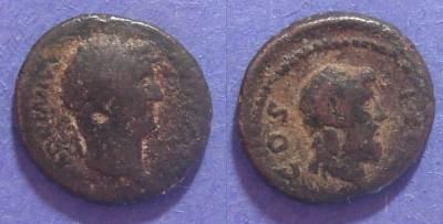 Ancient Coins - Roman Cyrene, Hadrian 117-138, AE15