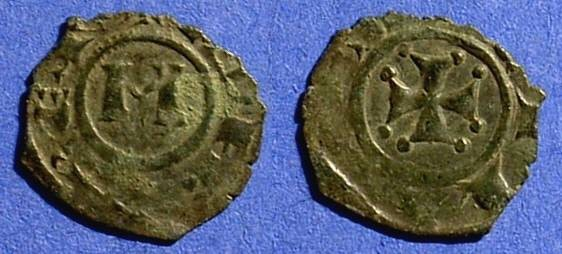 Ancient Coins - Kingdom of Sicily: Manfred 1258-66 Denaro