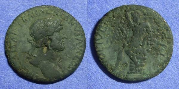 Ancient Coins - Pella Macedonia – Hadrian 117-138 – AE25