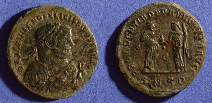 Ancient Coins - Maximianus 286-305 - Abdication Follis of the Serdica mint