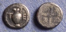 Ancient Coins - Macedonia, Terone Circa 424 BC, Hemiobol