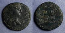 Ancient Coins - Celsa Spain, M Fulvius & C Otacilius 44-36 BC, AE28