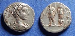 Ancient Coins - Roman Empire, Caracalla (as Caesar) 196-8, Silver Denarius