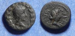 Ancient Coins - Lydia, Nysa, Augustus & Livia 27BC-14AD, Bronze AE16