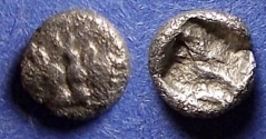 Ancient Coins - Caria, Uncertain city Circa 500 BC, Hemiobol