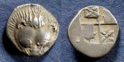 Ancient Coins - Cimmerion Bosporos, Pantikapeion Circa 450 BC, Hemidrachm