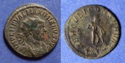 Ancient Coins - Roman Empire, Maximianus 296-305, Antoninianus