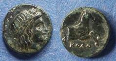 Ancient Coins - Ionia, Kolophon 360-330 BC, AE14