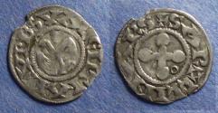 World Coins - France, Valance Circa 1250, Denier