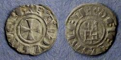 Ancient Coins - Crusader Jerusalem, Baldwin III 1143-63, Denier