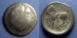 Ancient Coins - Lower Danube Celts, Imitating Philip II of Macedonia Circa 250 BC, Tetradrachm