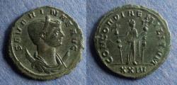 Ancient Coins - Roman Empire, Severina 270-5, Antoninianus