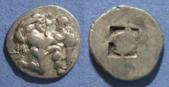 Ancient Coins - Islands off of Thrace, Thasos 480-463 BC, Stater