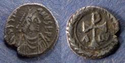 Ancient Coins - Byzantine Empire, Justinian 527-565, Siliqua