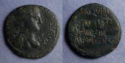 Ancient Coins - Celsa Spain, M Fulvius & C Otacilius 44-36 BC, AE28