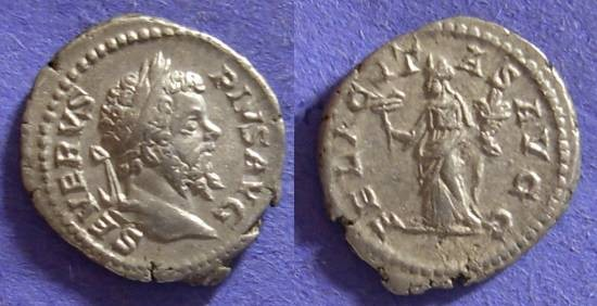 Ancient Coins - Septimius Severus 193-211 - Denarius