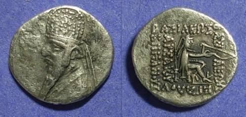 Ancient Coins - Parthian Empire  Mithradates II  123-88 BC Drachm