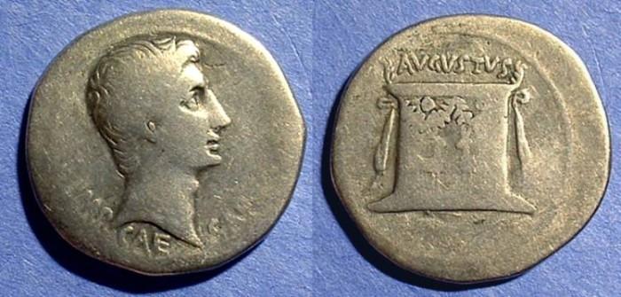 Ancient Coins - Augustus 27BC-14AD Cistophoric Tetradrachm ( Tri - Denarii )