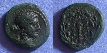 Ancient Coins - Sardes, Lydia Circa 150 BC, AE15