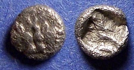 Ancient Coins - Caria, Uncertain city Circa 500 BC, Hemiobol