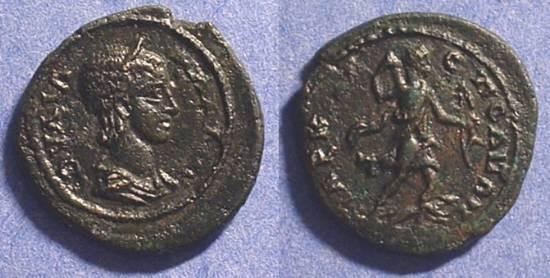 Ancient Coins - Julia Mamaea - 222-235AD - AE22 of Marcianopolis