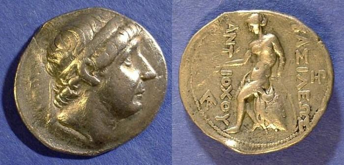 Ancient Coins - Seleucid Kingdom - Antiochos I 280-261 BC Tetradrachm