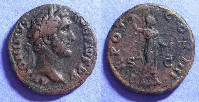 Ancient Coins - Antoninus Pius 138-161AD Aes