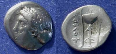 Ancient Coins - Kolophon, Ionia 330-310 BC, Hemidrachm