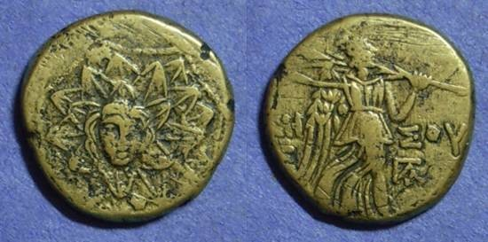 Ancient Coins - Amisos Pontos - AE20 Circa 100 Time of Mithradates