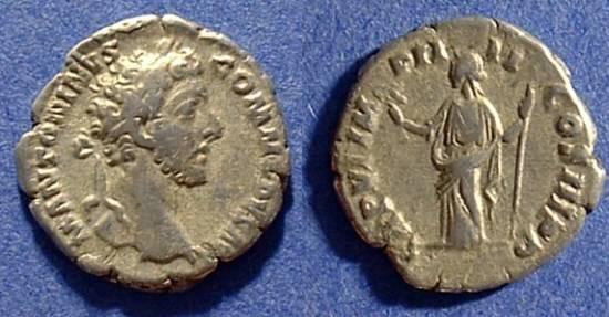 Ancient Coins - Commodus 177-192AD Denarius
