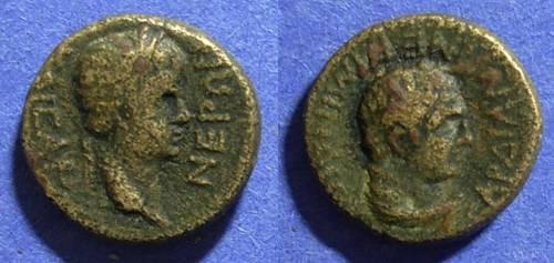 Ancient Coins - Sardes, Nero 54-68 AD, AE15