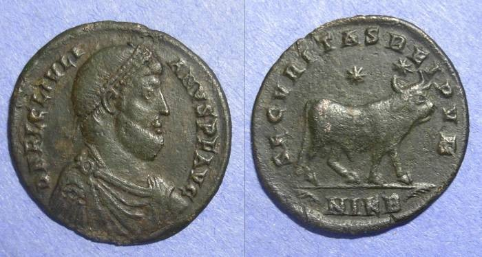 Ancient Coins - Roman Empire, Julian II 361-3AD, AE1