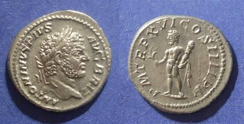Ancient Coins - Roman Empire, Caracalla 211-217, Denarius