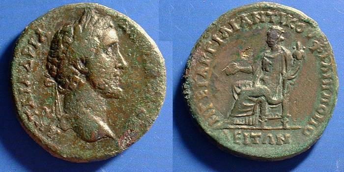 Ancient Coins - Antoninus Pius 138-161 AD. Philipopolis Thrace AE-30