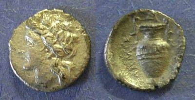Ancient Coins - Thessaly, Lamia 400-344 BC, Obol