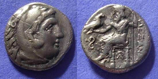 Ancient Coins - Macedonia – Alexander III 336-323 – Drachm