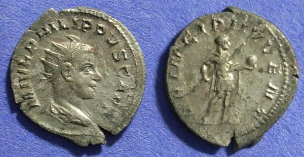 Ancient Coins - Philip II (as Caesar) 244-247 Antoninianus