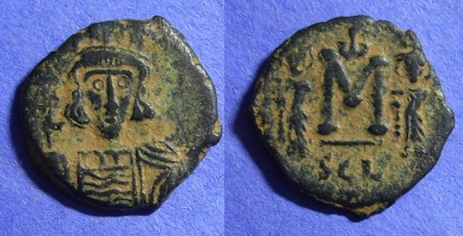Ancient Coins - Byzantine Empire - Constantine IV 668-685 – Follis of Syracuse