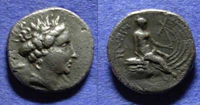 Ancient Coins - Histiaea, Euboea Circa 250 BC, Tetraobol