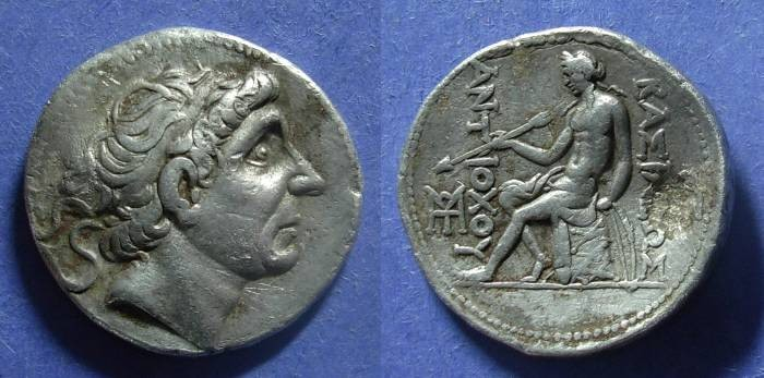 Ancient Coins - Seleucid Kingdom, Antiochos II 261-246 BC, Tetradrachm